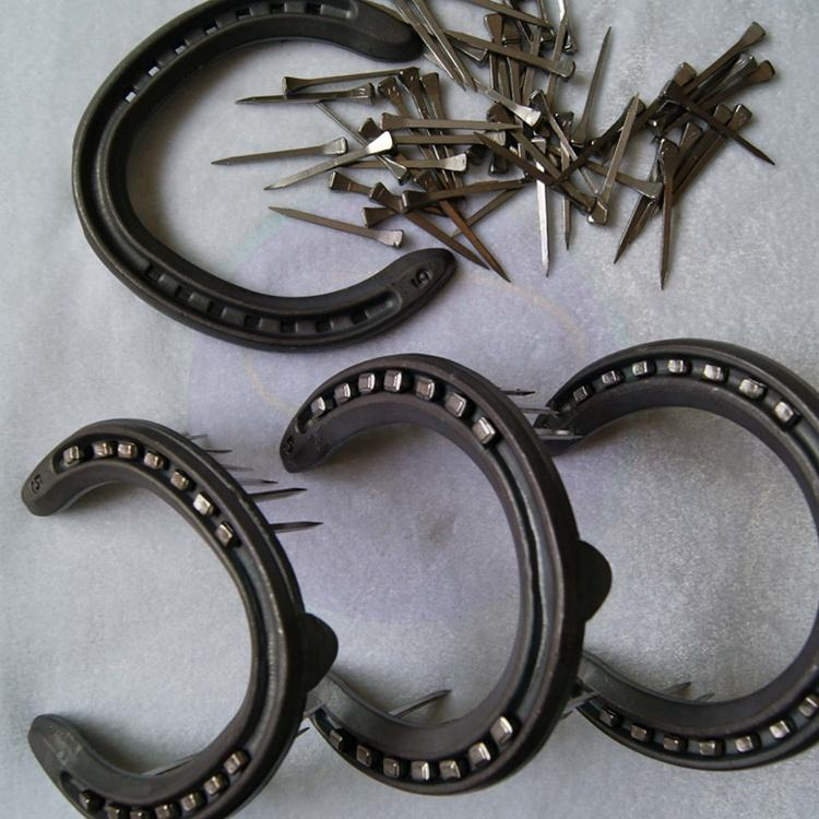 factory direct sell forged wholesale professional horseshoe set