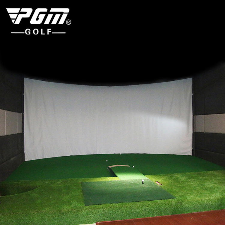 PGM indoor mini golf 3d bildschirm golf simulator