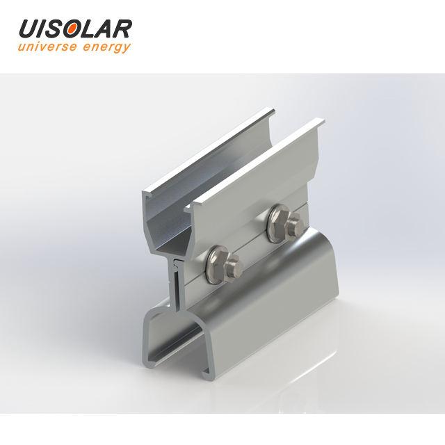 2 QTY Rail Splice for UISolar Rails
