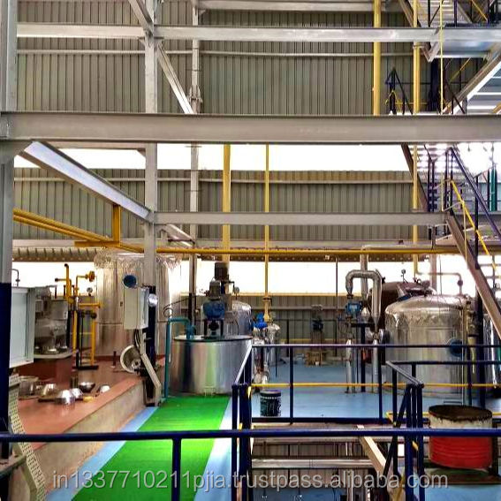 Edible Oil Refinery Plants, Crude Oil Refining Plant, Sunflower Oil Refinery