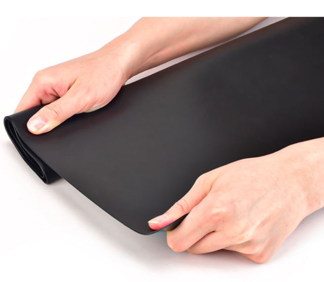 silicone gel sheet non-adhesive 3mm thickness epdm rubber sheet