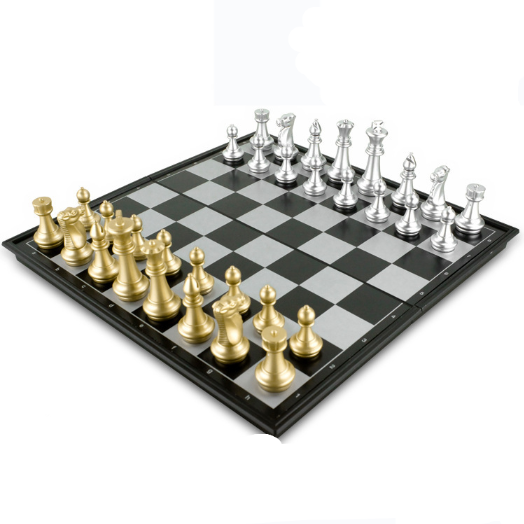 Desktop leisure entertainment game toy folding magnetic chess
