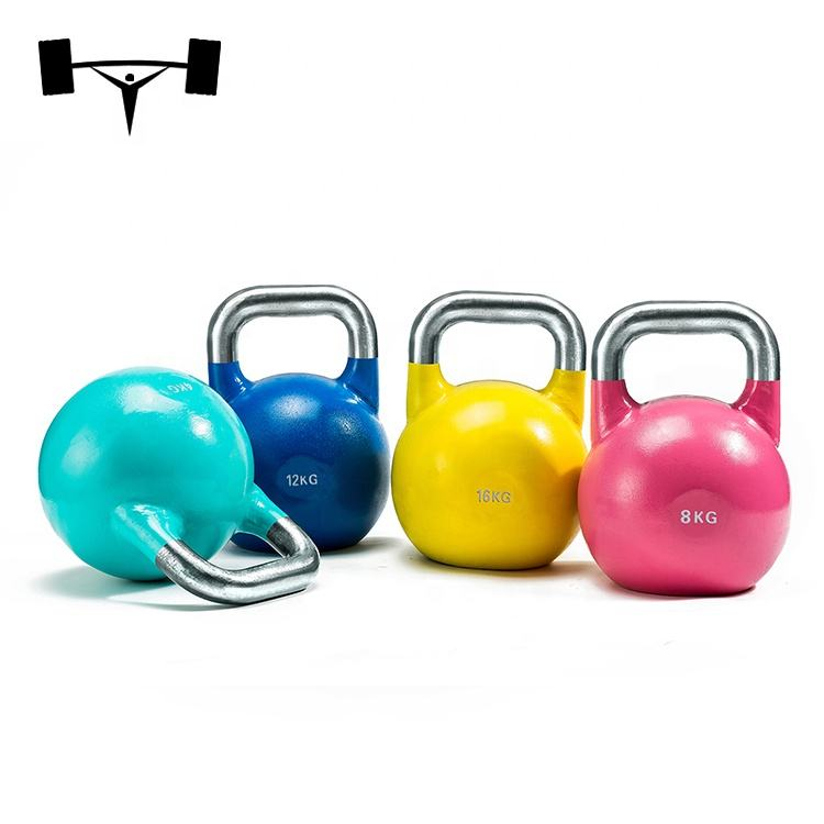 MOQ 1000KG China Steel Competition kettlebell Color