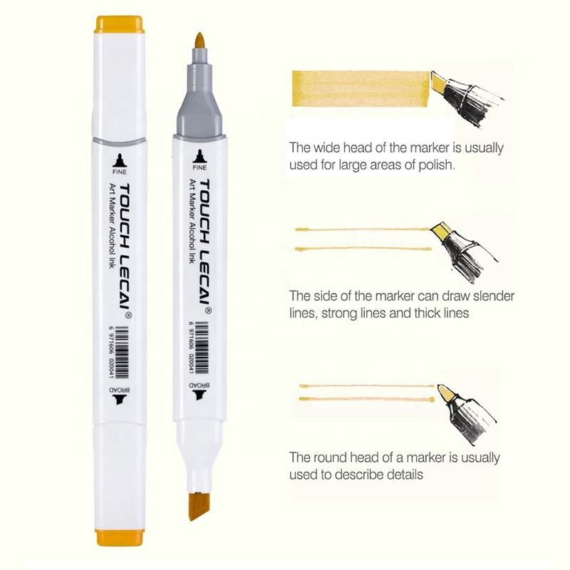 Finecolour Promotional double sided alcohol based color marker