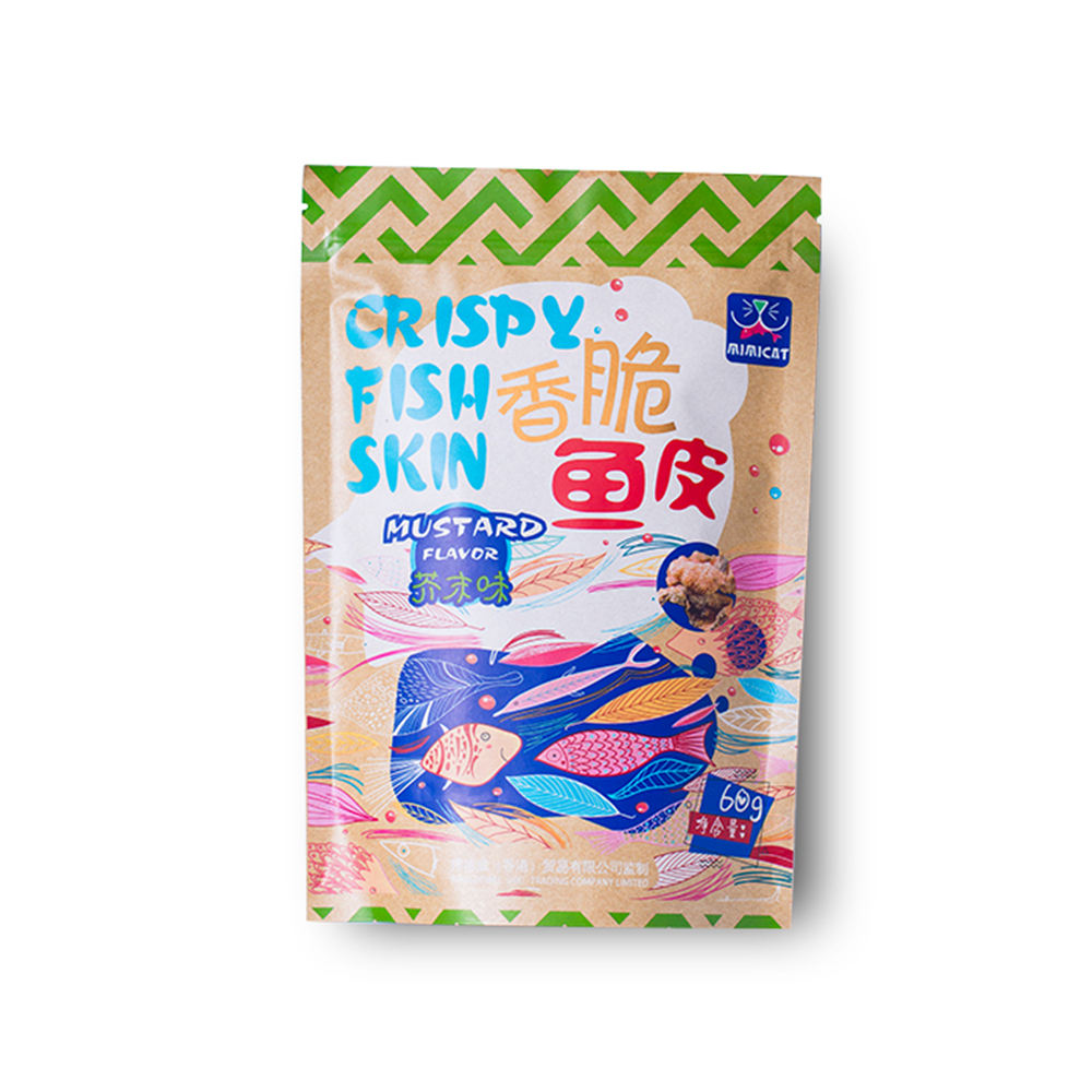 wholesale good price instant food crispy fish skin