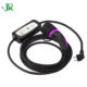 JERI type 2 electric vehicle cable car adjustable portable charging station ev charger