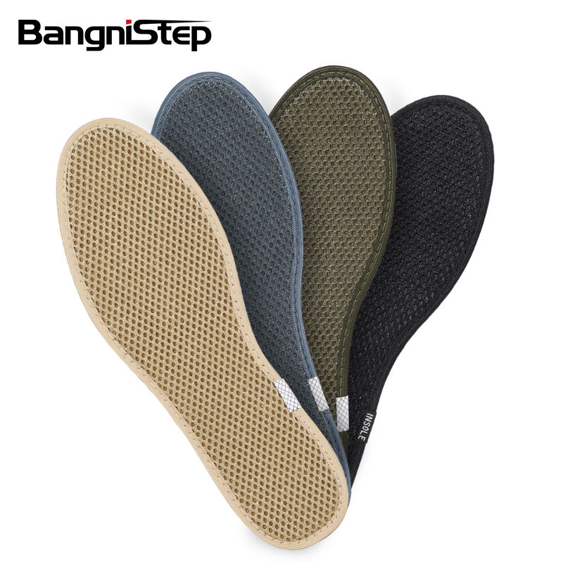 Bangnistep activated Carbon fiber insole Bamboo Charcoal Deodorization Shoe Insoles Sweat absorption insole
