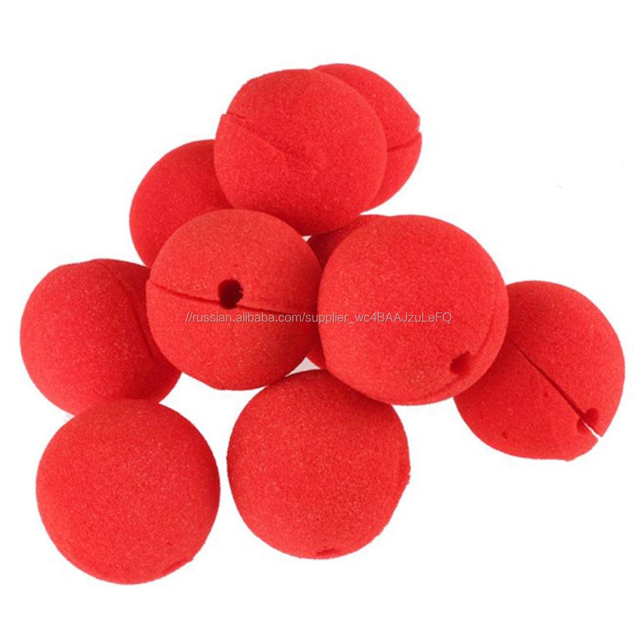 Цирк партия праздник украшения легко использовать пены <span class=keywords><strong>Клоун</strong></span> Магия красный нос
