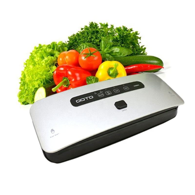 OOTD Portable Household Kitchen Fresh Food Save Automatic Vacuum Sealing Machine Handheld Vacuum Sealer for fruit/meat/nuts/fish