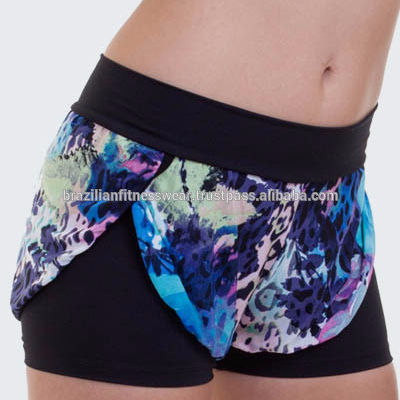 Supplex Fitness desgaste Sexy corto brasileño Activewear