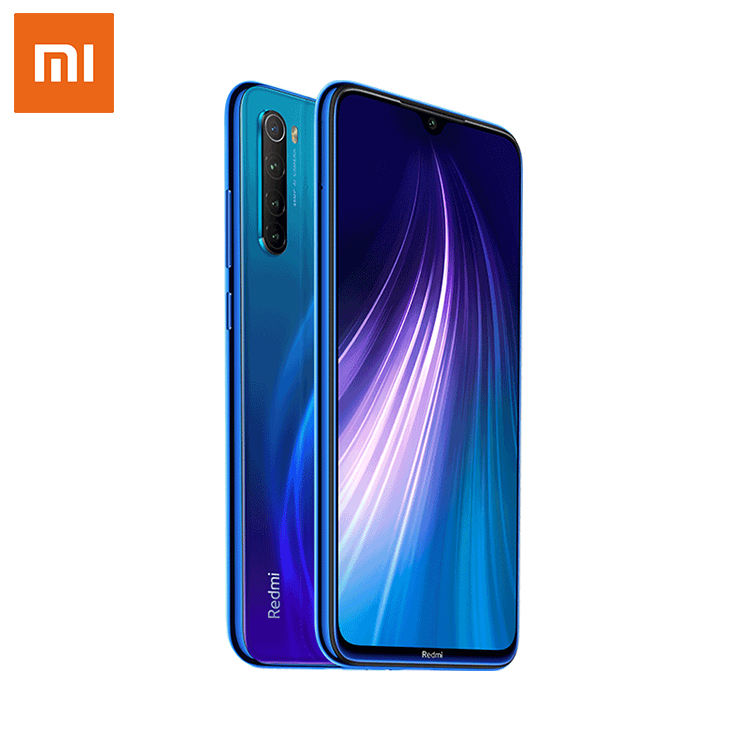 New Arrival Xiaomi Redmi Note 8 4GB 64GB Smartphone 48MP Quad Rear Camera Snapdragon 665 Mobile Phone 4000mAH 6.3'' FHD Screen