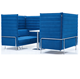 Alcove Sofa High Back Loveseater Meeting Pod Office Workstation A493