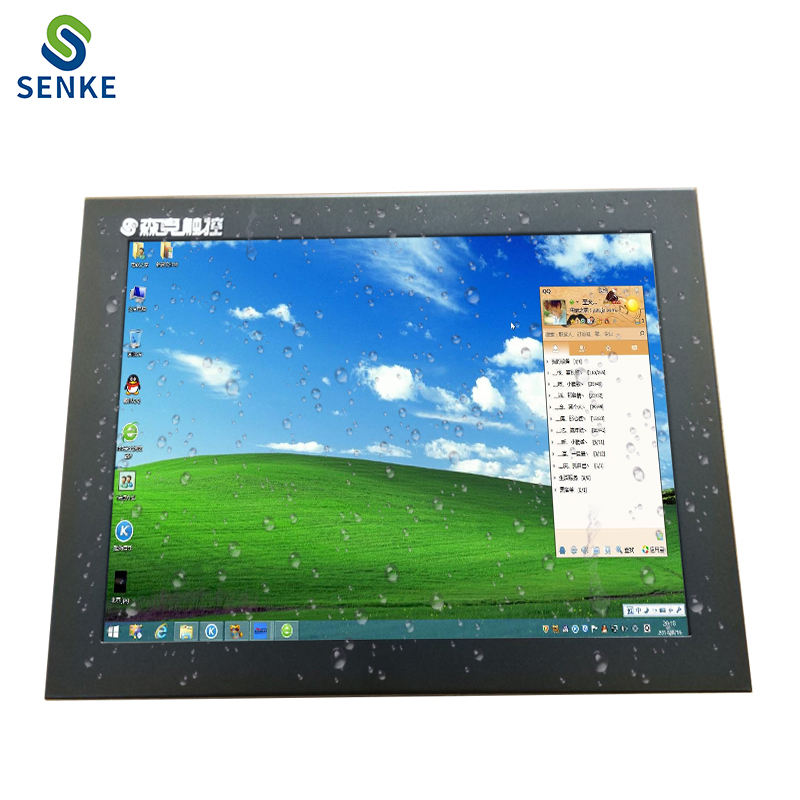 16.5 inch industrial hmi resistive touch screen mini touch panel pc