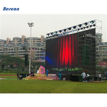 p10 p7.62 p6 p5 p4 p3 p2 smd indoor full color outdoor display advertising car led transparent screen Concert Stage