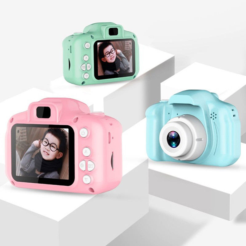 Cross-border new X2 children's camera toy can take pictures mini digital children's small SLR children's high-definition camera