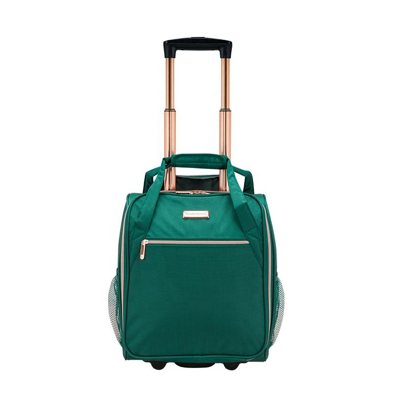 wholesales miniatura luggage high quality under seat luggage oem/odm two wheeled trolley bag