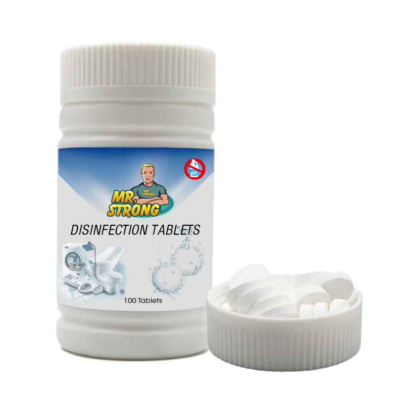 Antibacterial widely application disinfectant tablet