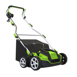 Garden tools electric grass scarifier and aerator machine