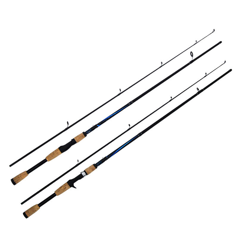 FRL 23 Hot China 2.1M Guide Reel Combo Holder Rod Fishing Fly Carbon Fiber Telescopic Lure Fishing Rods