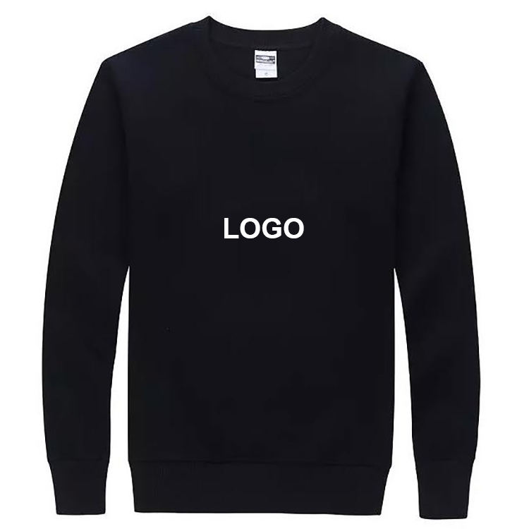 Custom hoodies men 100% Cotton crew neck sweatshirt plain xxxxl crewneck hoodies sweatshirts