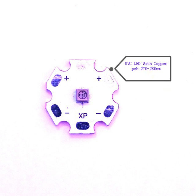 High power LED SMD 3535 Ultraviolet 270-280nm For UV light
