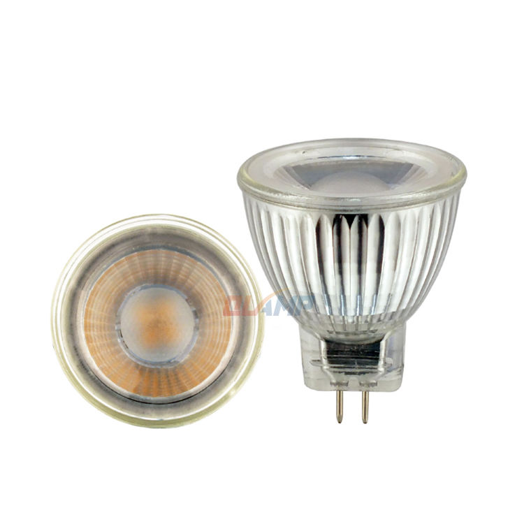 QLAMP MR11 12v dimming 1w 2w 3W 5w led spotlight RA90 2700K3000K 220v 110V G4 pin mini 35mm spots