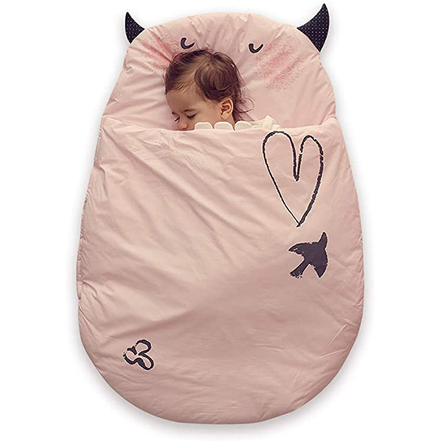 Hot Sale 100% Cotton Baby Sleeping Bags for 0-18 Months
