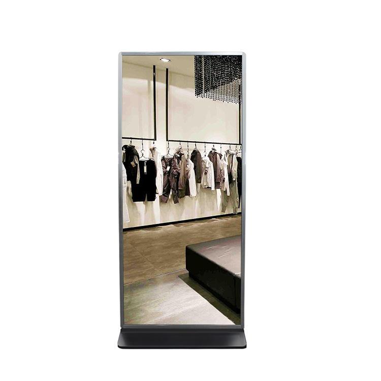 42 pollice display touchscreen <span class=keywords><strong>lcd</strong></span> pubblicità magic mirror con photobooth