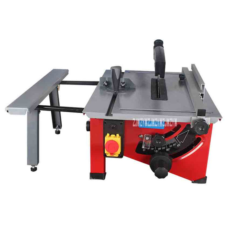 (Extended Version) 8 Inch Sliding Woodworking Table Saw Multifunctional Table Saw DIY Wood Circular Saw 210MM 220V-240V 1200W