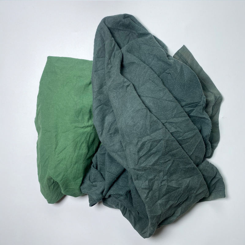 Industrial Recycling Textile Cotton Waste Rags Lompen For Machine Wiping