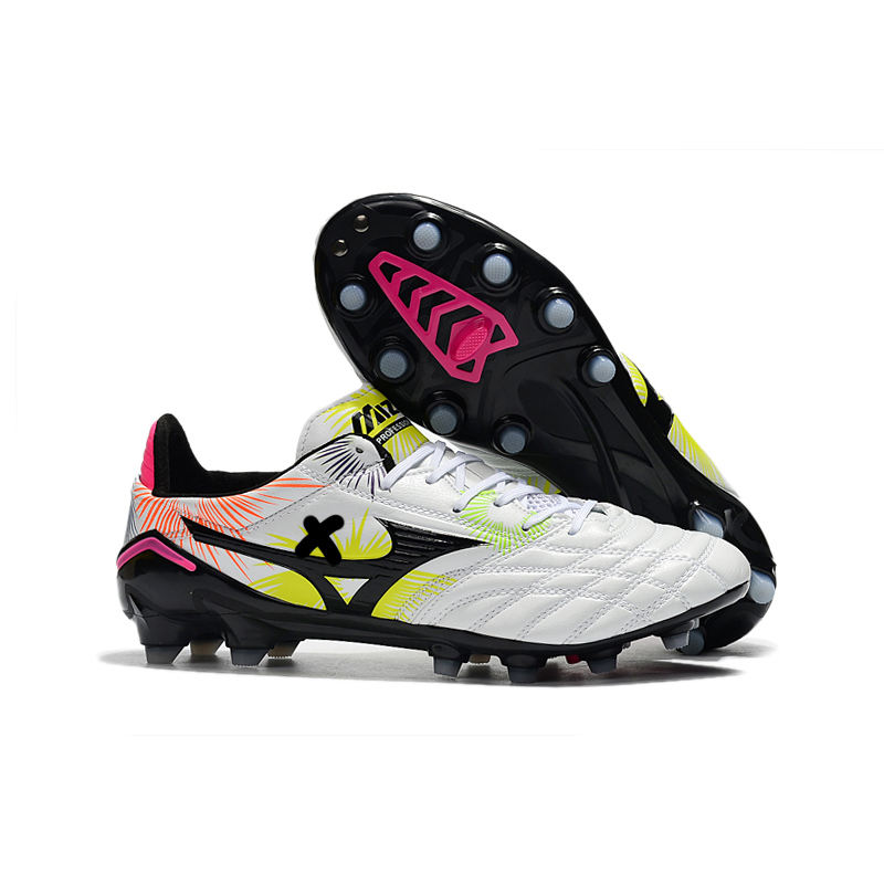 2021 hot-selling high-quality Morelia Neo II soccer shoes, lightweight and wear-resistant soccer shoes, FG spike leather soccer