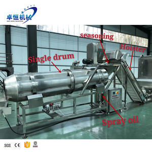 Puff snacks food making machines corn puff snack extruder snack food production line