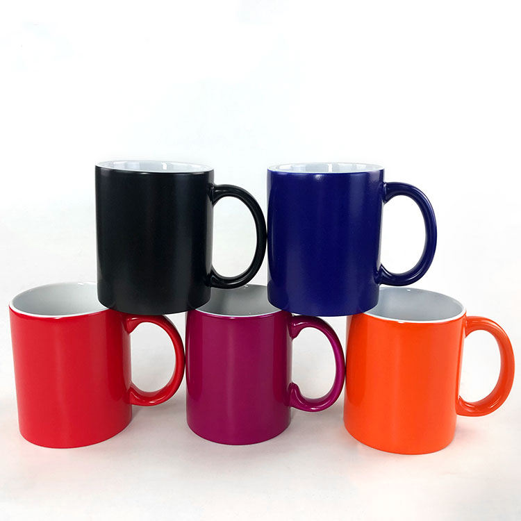 11oz Blank Photo Magic Mug Matt Color Change For sublimation