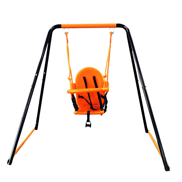 New Indoor and Outdoor Baby Metal Toddler Swing set