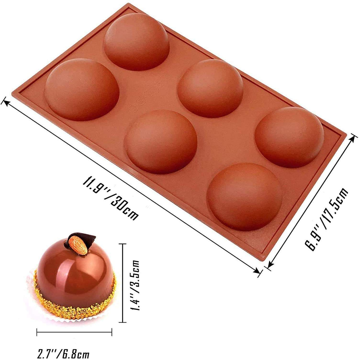 2020 latest items chocolate cake mould baking tray perforated confeitaria steaming cake food tool silicone molds for concrete