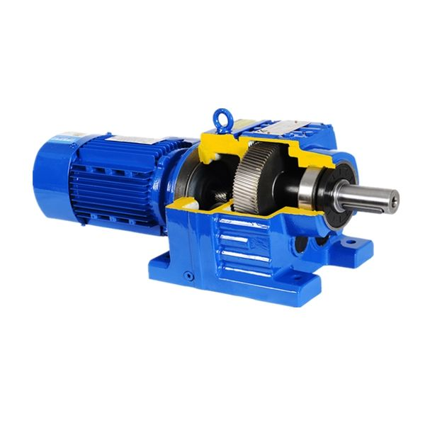 3000rpm R Series vertical horizontal gearbox R37 drive reducer for electric motor