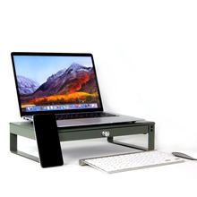 Hot sales School office Laptop Computer desk organizers with drawer Morden Monitor Stand Riser