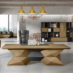 WESOME meubles post-moderne mobilier de bureau tabac de conception en bois de direction table
