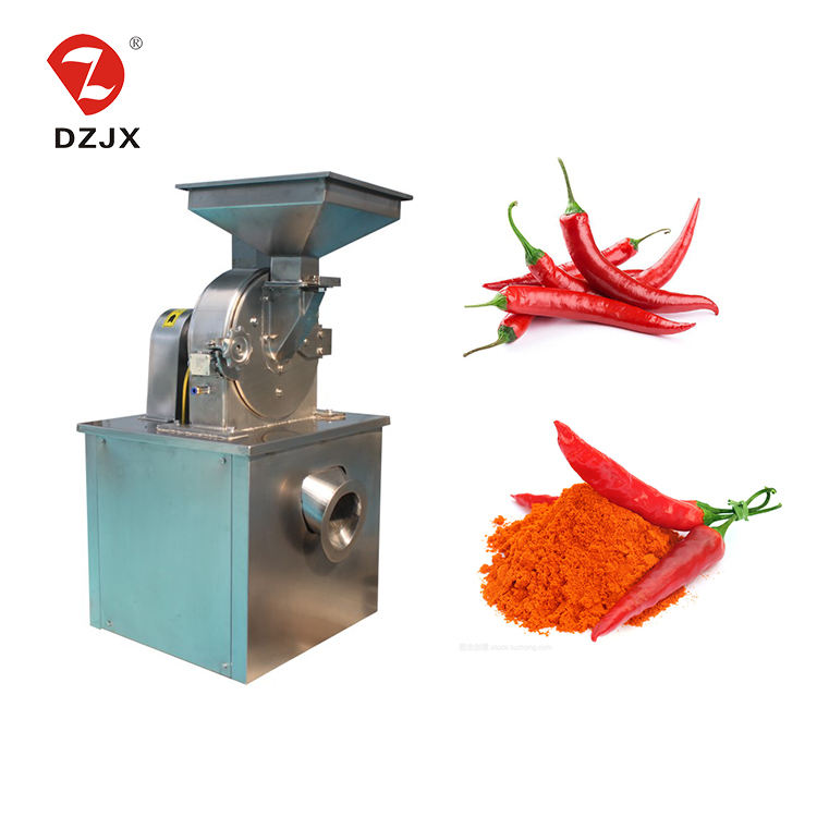 DZ energy saving food industry dried ginger chili pepper nutmeg spice powder pulverizer machine