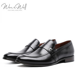 Wearwell 2021 New Fashion Wholesale Custom Design Leather Men's Dress Shoes