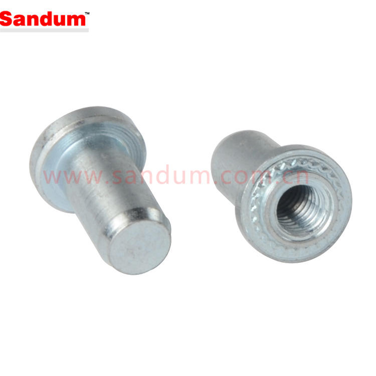 Unicorp ECLS-440-2 Round Captive Nut Self-Clinching Stainless QTY-10 4-40 Thd x .056 thk