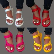 2020 Women Sandals Ladies Summer Flat Sandals Women Shoes Slide Summer Sandals