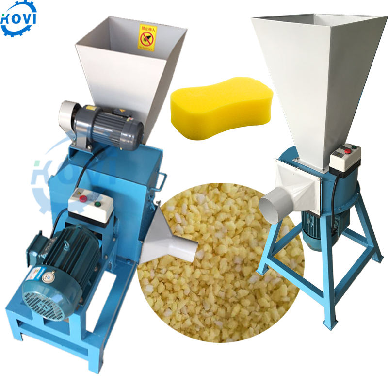 Most popular foam crusher machine pe foam shredder for sale