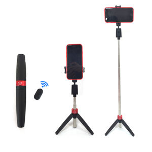 Y11 Universal 360 Rotation Foldable Portable Bluetooth Tripod Selfie Stick With Remote Control