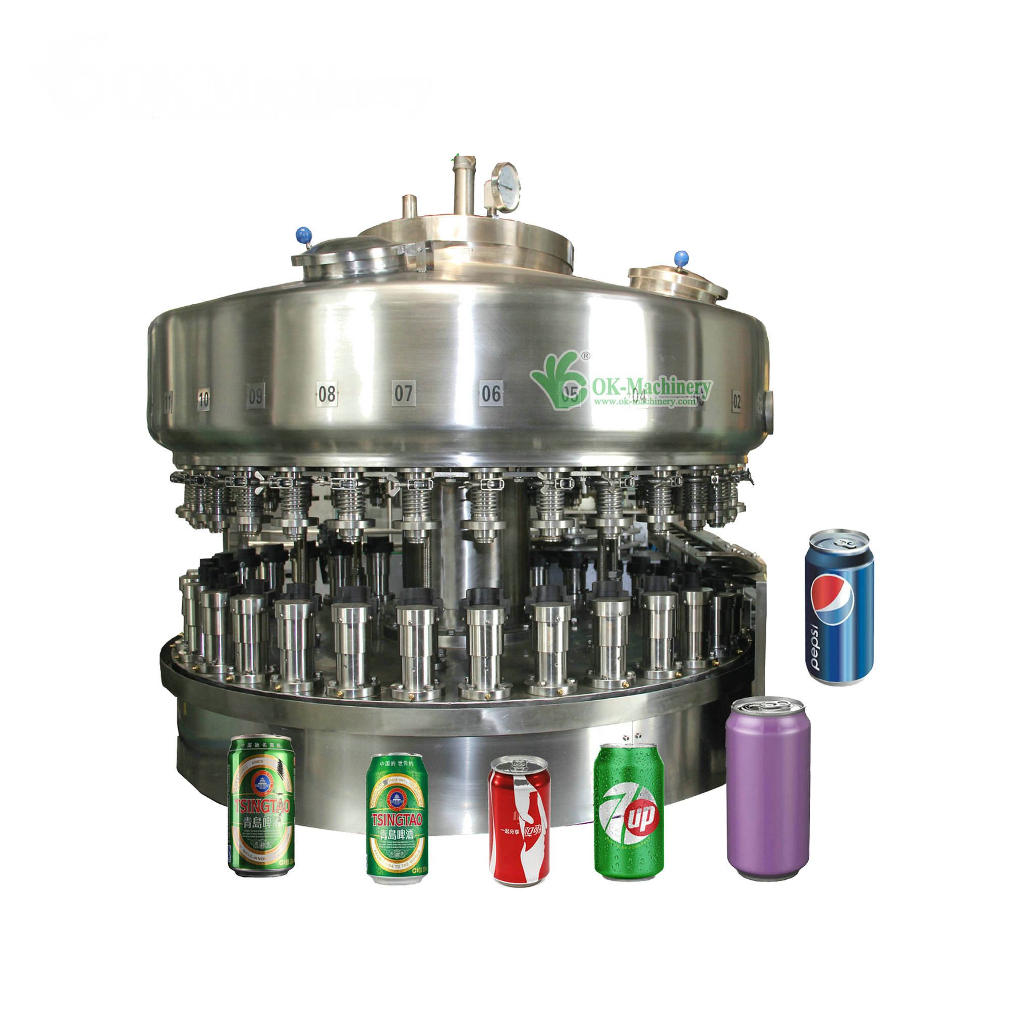 beverage can filling and sealing machine guangdong/can filling line machine