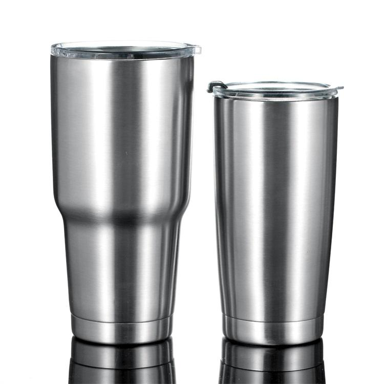 Wholesale 20oz/30oz Double Walled Vacuum Insulated Stainless Steel Tumbler Cups Custom Logo