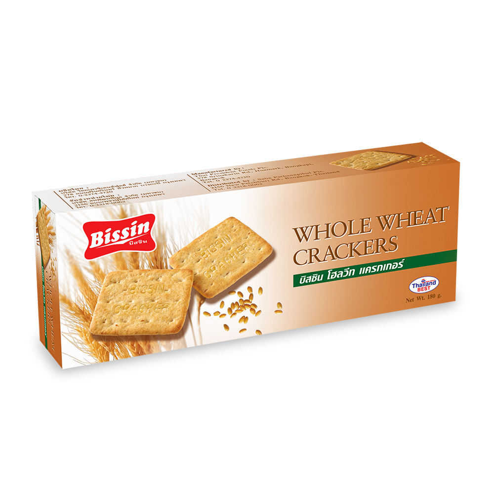 180g Whole Wheat Snack Imported Biscuits Cream Soda Graham Cracker