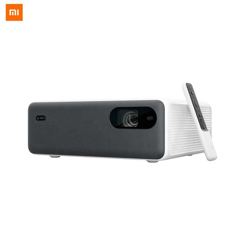 Mijia Xiaomi Laser Projector 4K with 3D 1920x1080P 2400 ANSI Lumens Android9.0 Support4K 8K Home Theater Video Proyector