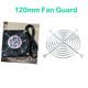 Regular 120mm Anticorrosive Property Fan Guard Net Grills Replacement For Finger Protection