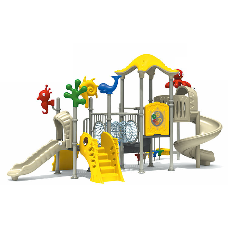 Kids outdoor climbing structure slide and Playground Outdoor Slide for park china manufactures